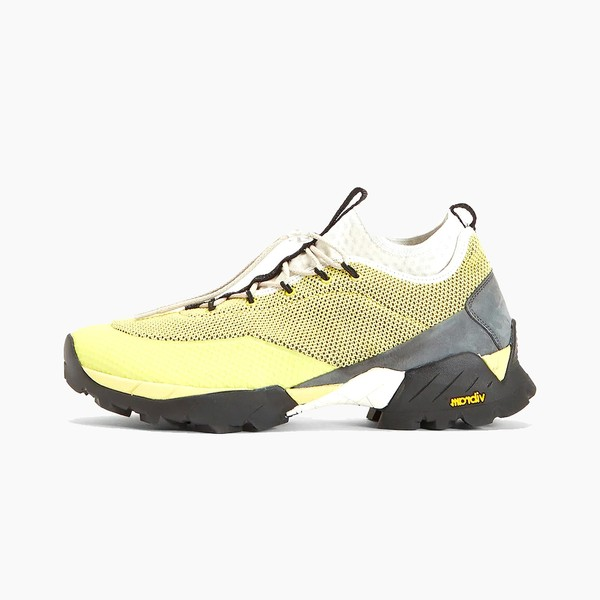 ROA Daiquiri Mid Sneakers in Yellow