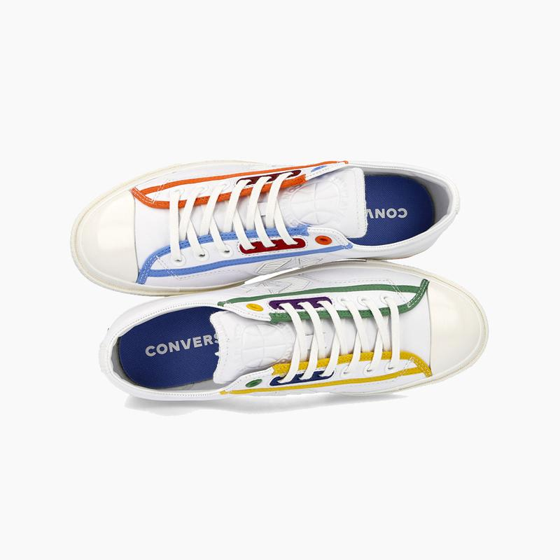 """Converse Star Player OX """"Logo Mash Up"""" Sneaker Release Where to buy Price 2020"""