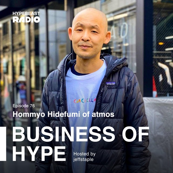 "atmos' Hommyo Hidefumi Wants You to Embrace Your Inner ""Crazy"""