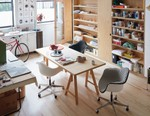 Herman Miller's Eames Upholstered Task Chair Emerges in Bold New Colors