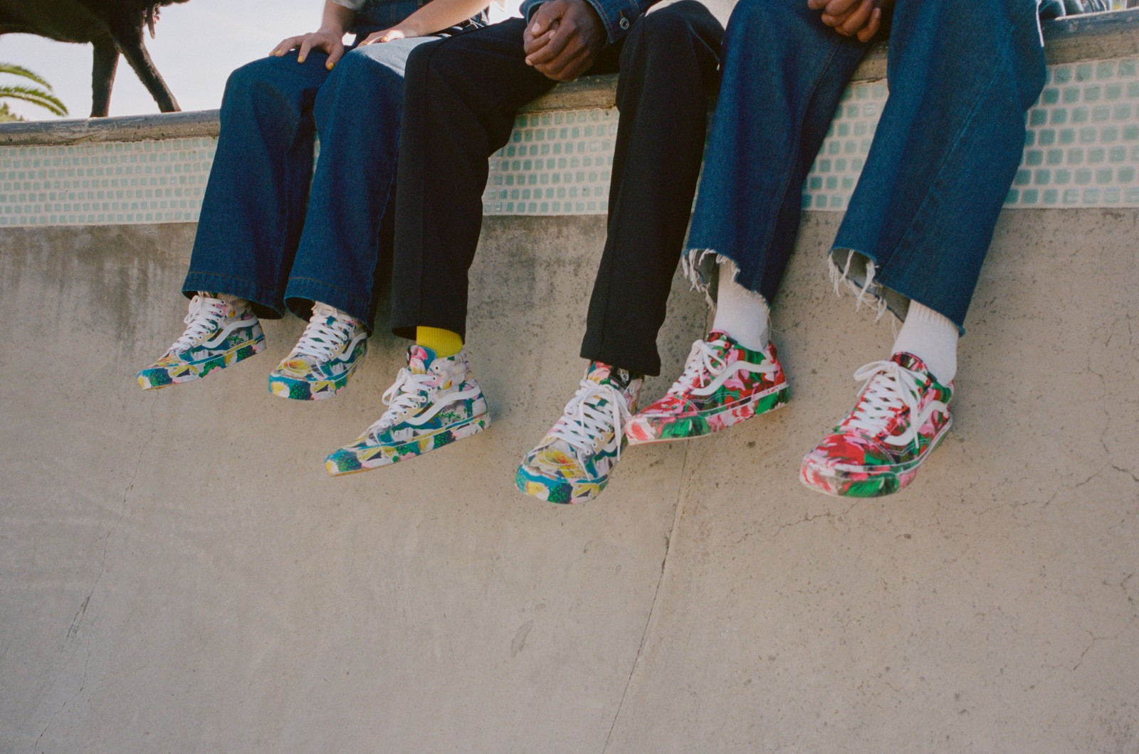 KENZO vans collaboration capsule footwear ready to wear old skool sk8 hi felipe oliveira baptista the skateroom