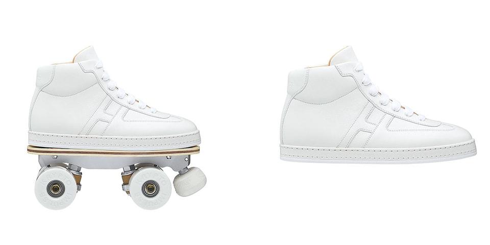 """Hermès Creates 2-in-1 """"Savana Dance"""" Roller Skate Sneakers"""
