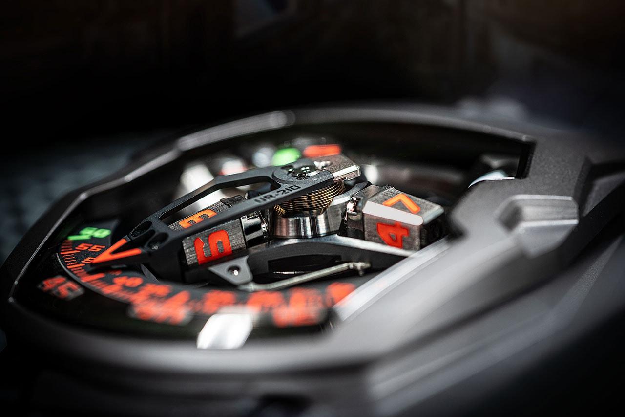 Urwerk UR-210 Last Edition Watch Model June 2020 color finish order price titanium pvd steel release date
