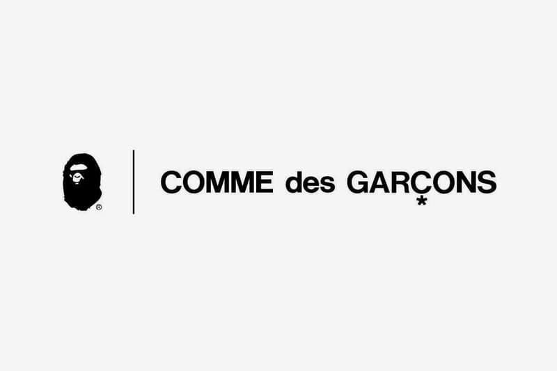 A BATHING APE COMME des GARÇONS Collab Announcement Info Release Bape