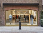 """A.P.C. London Store Furnished With Aluminium """"Cabin Modules"""""""