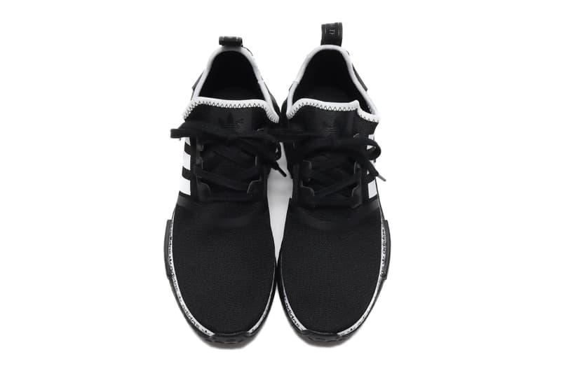 adidas NMD R1 Core Black Footwear White menswear streetwear spring summer 2020 collection shoes footwear sneakers trainers runners kicks ss20