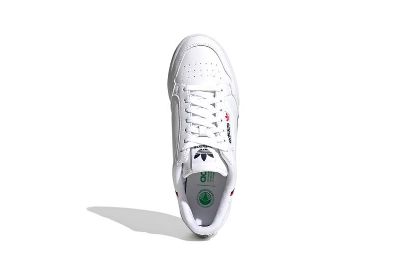 adidas originas samba continental 80 vegan sustainable pu recycled polyester algae based foam details information release FW2427 FW2336