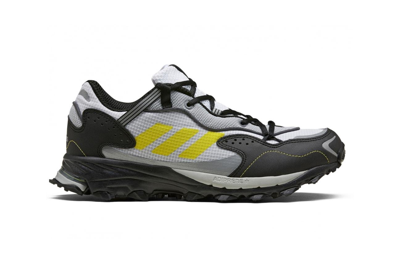adidas GF6100AM response hoverturf release information black white gold solar yellow details fx4151 fx4152 gardening club
