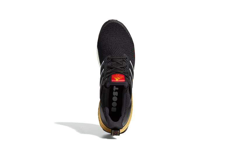 "adidas UltraBOOST DNA ""Tokyo"" Release Information Footwear Drops Sneaker Three Stripes Running BOOST Cushioning Core Black Cloud White Gold Metallic Primeknit Torsion FY3425"
