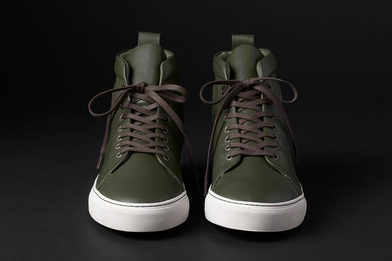 aether dalton shoe sneaker high top olive green black navy blue onyx nordic duffle official release date info photos price store list