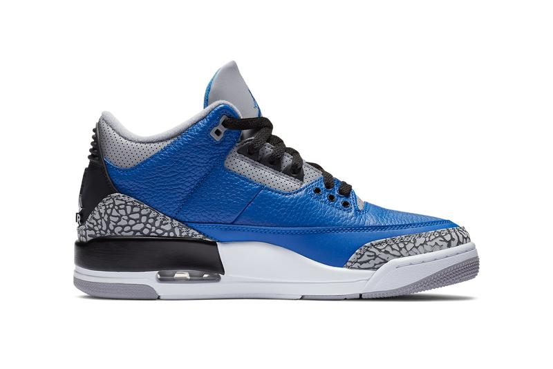 air jordan brand 3 blue cement black grey CT8532 400 official release date info photos price store list