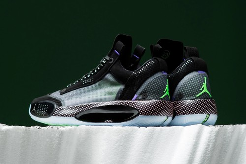 """Air Jordan 34 Low Appears in Vivid """"Vapor Green"""""""