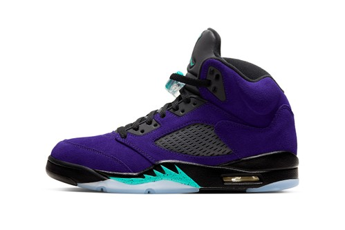 "Air Jordan 5 ""Alternate Grape"" Receives Official Look and Release Date"