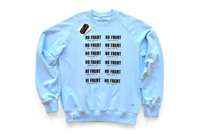 aka Six fragment design Jamie Reid sex pistols NO FRMGT Capsule Sweaters Release info no future dead cowboy
