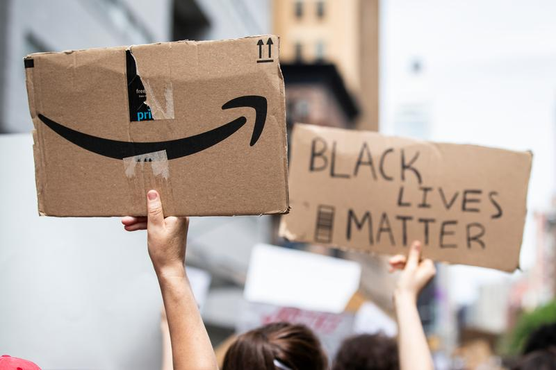 Amazon 10 Million USD Black Lives Matter Donation News jeff bezos ACLU Foundation Brennan Center for Justice Equal Justice Initiative Lawyers' Committee for Civil Rights Under Law NAACP National Bar Association National Museum of African American History and Culture National Urban League Thurgood Marshall College Fund UNCF (United Negro College Fund) Year Up