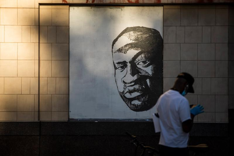 Artists and Curators Black Lives Matter Initiatives Artwork Donations Minneapolis Mural George Floyd