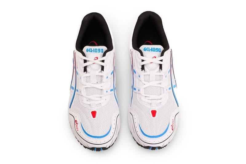 ASICS GEL 1090 white Blue Coast Sneakers shoes footwear trainers runners kicks spring summer 2020 collection menswear streetwear
