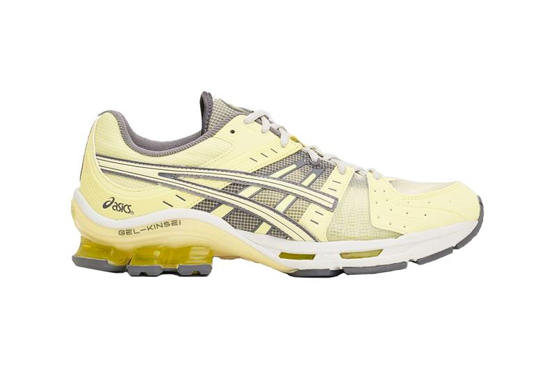 ASICS GEL Kinsei OG Huddle Yellow Sneakers shoes footwear trainers runners kicks spring summer 2020 collection menswear streetwear japanese hi tech technical