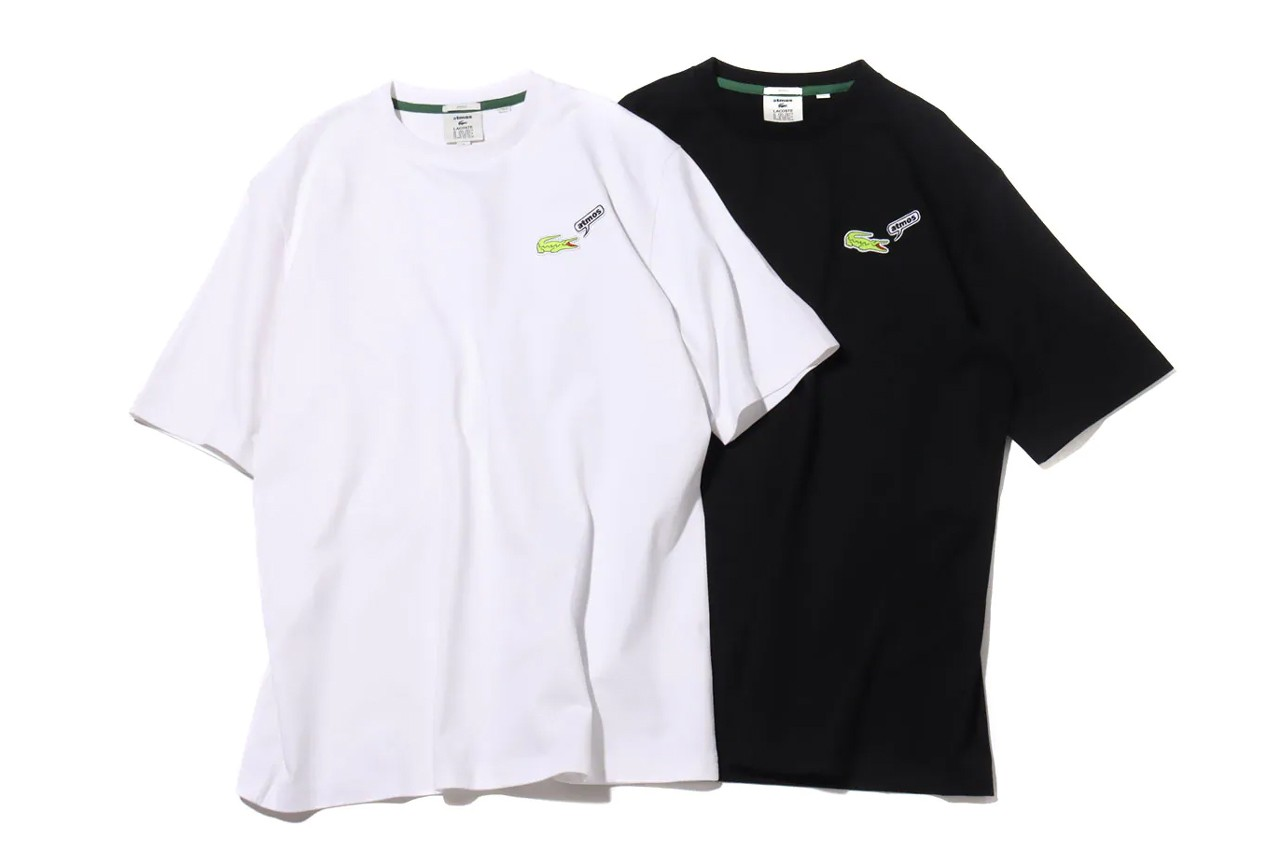 atmos lacoste street tennis collection capsule balsa ball t shirt polo sweatshirt crocodile medicom toy bearbrick 100 400 official release date info photos price store list buying guide
