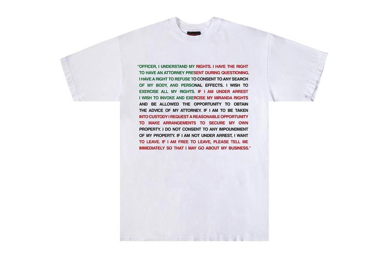 babylon la rights tee white black red green charity the bail project black lives matter blm protests lawyer official release date info photos price store list