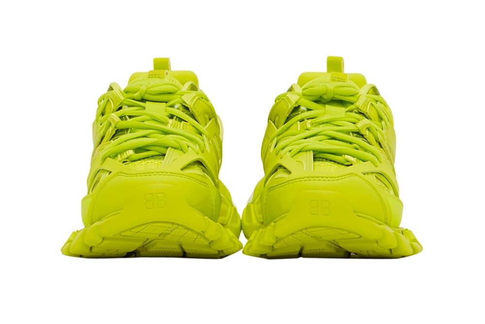 Balenciaga Track2 Acid Lime Sneakers