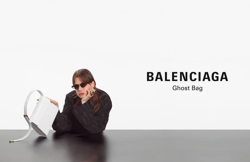 balenciaga fall 2020 winter campaign kering shoes bags demna gvasalia fashion luxury