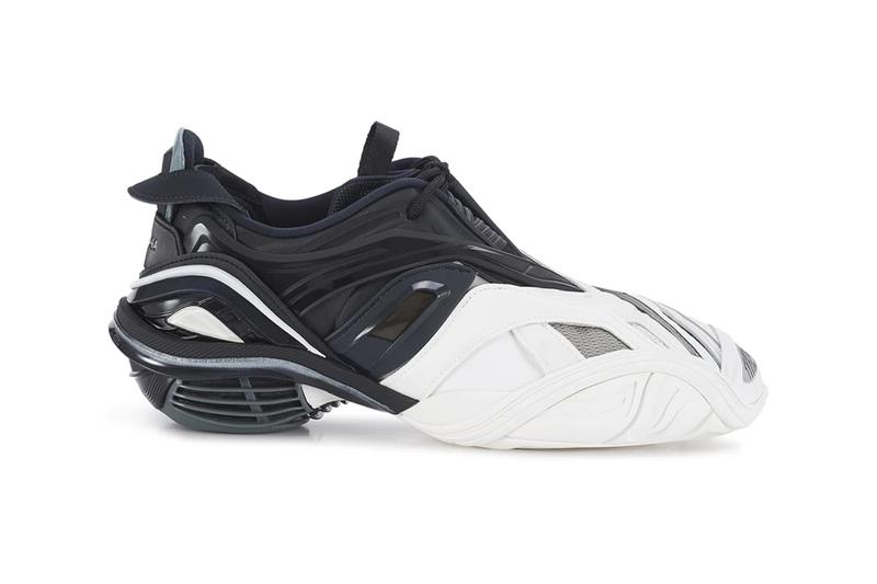 Balenciaga Tyrex black white BALZUT2TBCKCE46000 Sneakers shoes footwear trainers runners kicks spring summer 2020 collection menswear streetwear
