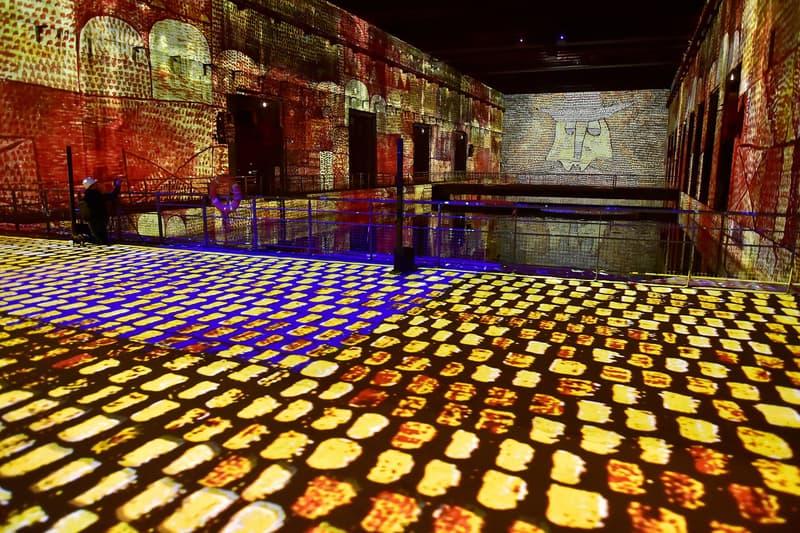bassins de lumieres digital art gallery bordeaux france opening