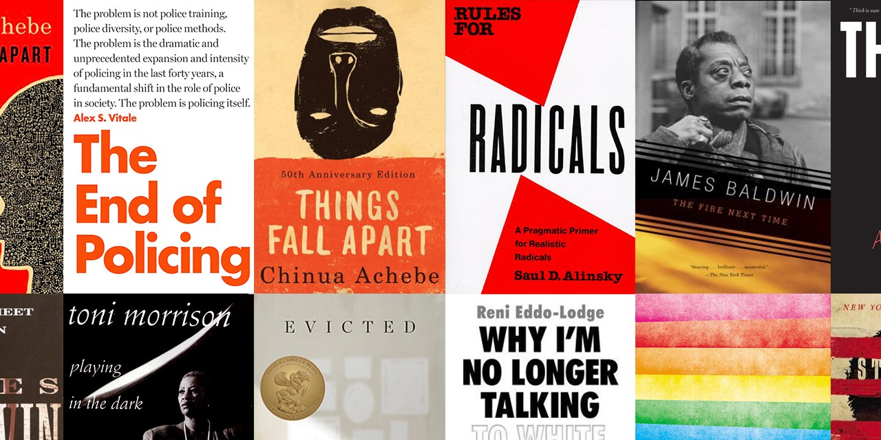 books reading list black lives matter lgbtq pride james baldwin evicted thick toni morrison on being different social justice