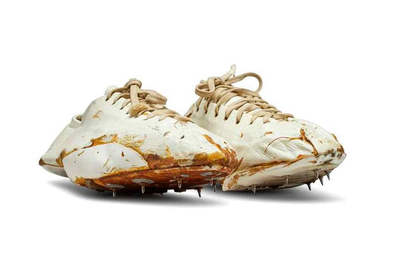 bill bowerman university of oregon track coach waffle spike shoe handmade sotheby's auction price estimate photos release date info
