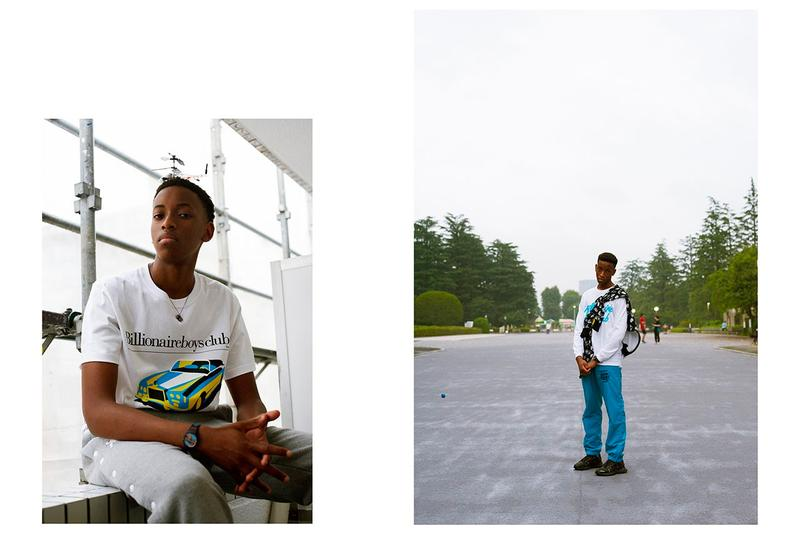 Billionaire Boys Club Summer 2020 Lookbook pharrell williams startrek japan Icecream ice cream bbc skate hypebeast