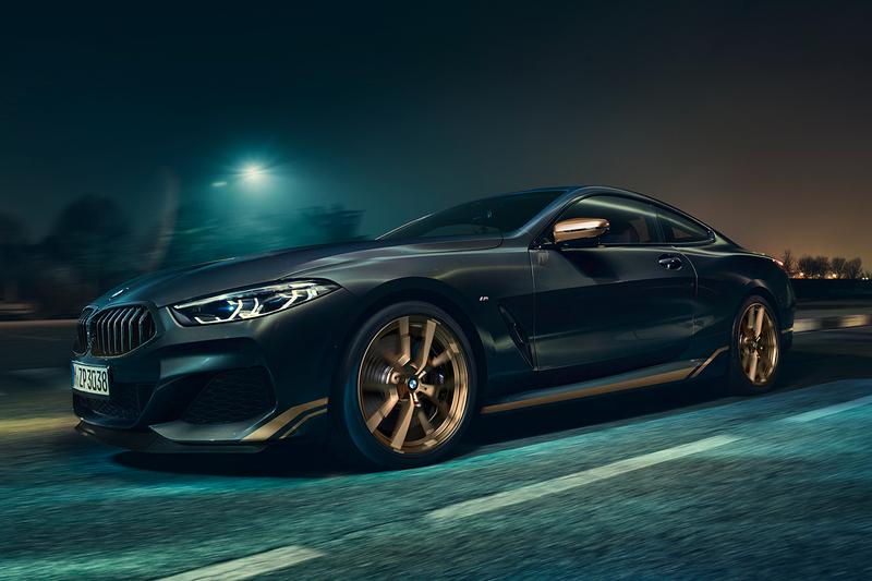 BMW 8 Series Edition Golden Thunder Individual Luxury Customer Customization Black Gold German Automotive Super Coupe Convertible Gran Gran Coupe M8 Closer Look Revealed News Announcements Bowers & Wilkins Diamond Surround Sound System