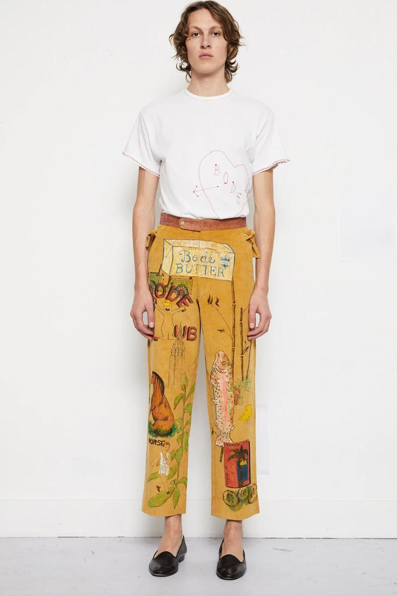 BODE Customized Senior Cord Pieces by Pre-Order handmade illustrated trousers pants jackets