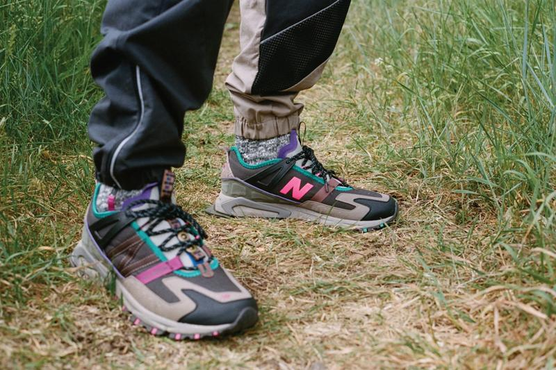 bodega new balance x racer all terrain lookbook editorial pink green purple brown tan black official release date info photos price store list