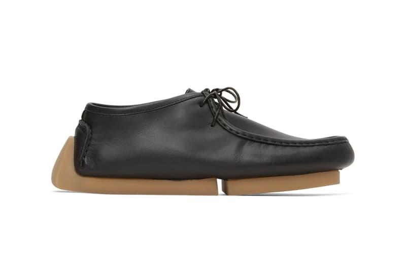 Bottega Veneta Black Driver Loafers SSENSE Lace-up Square Moc Toe Leather Calfskin Shoes