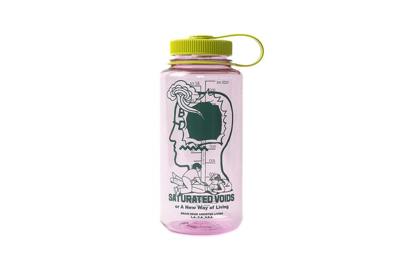 """Brain Dead New Season Nalgene Bottles 16oz 32oz Tritan Narrow Mouth Water Bottles Orange Grey Pink Teal Bunny Rugs """"We Have Come to Invade your Home"""" Japanese Homeware Goods Release Information Drops"""
