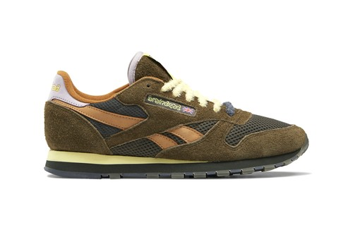 Official Look at Brain Dead's Reebok Classic Leather