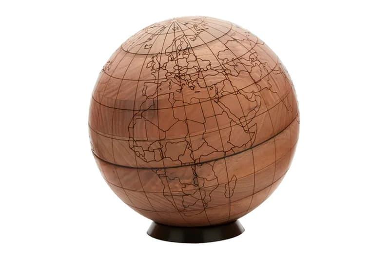 Brunello Cucinelli Engraved Walnut-Wood Globe Release Info Buy Price MATCHESFASHION