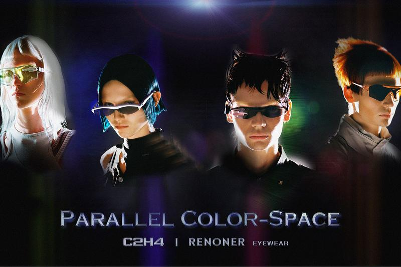 C2H4 RENONER Eyewear Collection Release Nova Xenotrophy Info Vibrant Orange Cloud Rainbow Graphite Gray Vanward Black Fuzzy Blue Coral White Parallel Color-Space