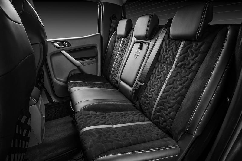 carlex design europe asia ford ranger midsize pickup truck custom job bodywork interior racing seats