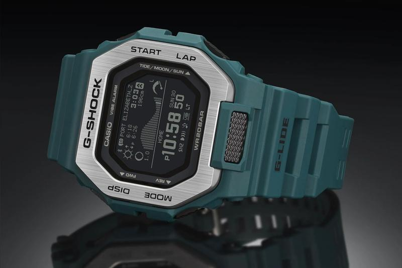 Casio G-Shock G-Lide GBX100 Info 2020 release watches digital clocks watches accessories color tech Japan