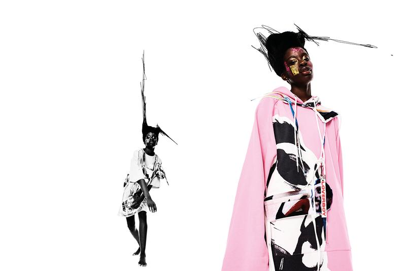 Charles Jeffrey Loverboy Charity Capsule Collection London Fashion Week LFW Kaleidoscope Trust UK Black Pride