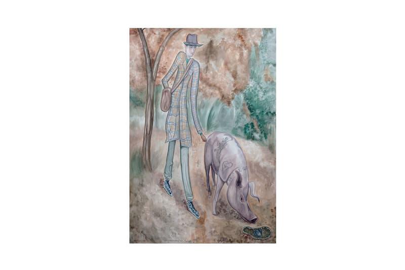 "Charlie Roberts ""Sandworm"" Exhibition WOAW Gallery  Case Studyo Frank Herbert Hong Kong art paintings"