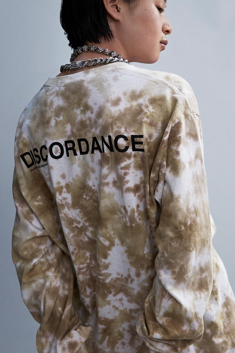 Children of the Discordance Dover Street Market Ginza One-Off Collection Exclusive Info bandana anorak long sleeve shirt short shorts pants camp cap tie-dye