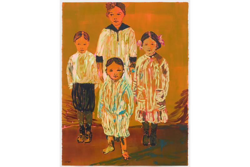 claire tabouret siblings perrotin seoul exhibition artworks paintings