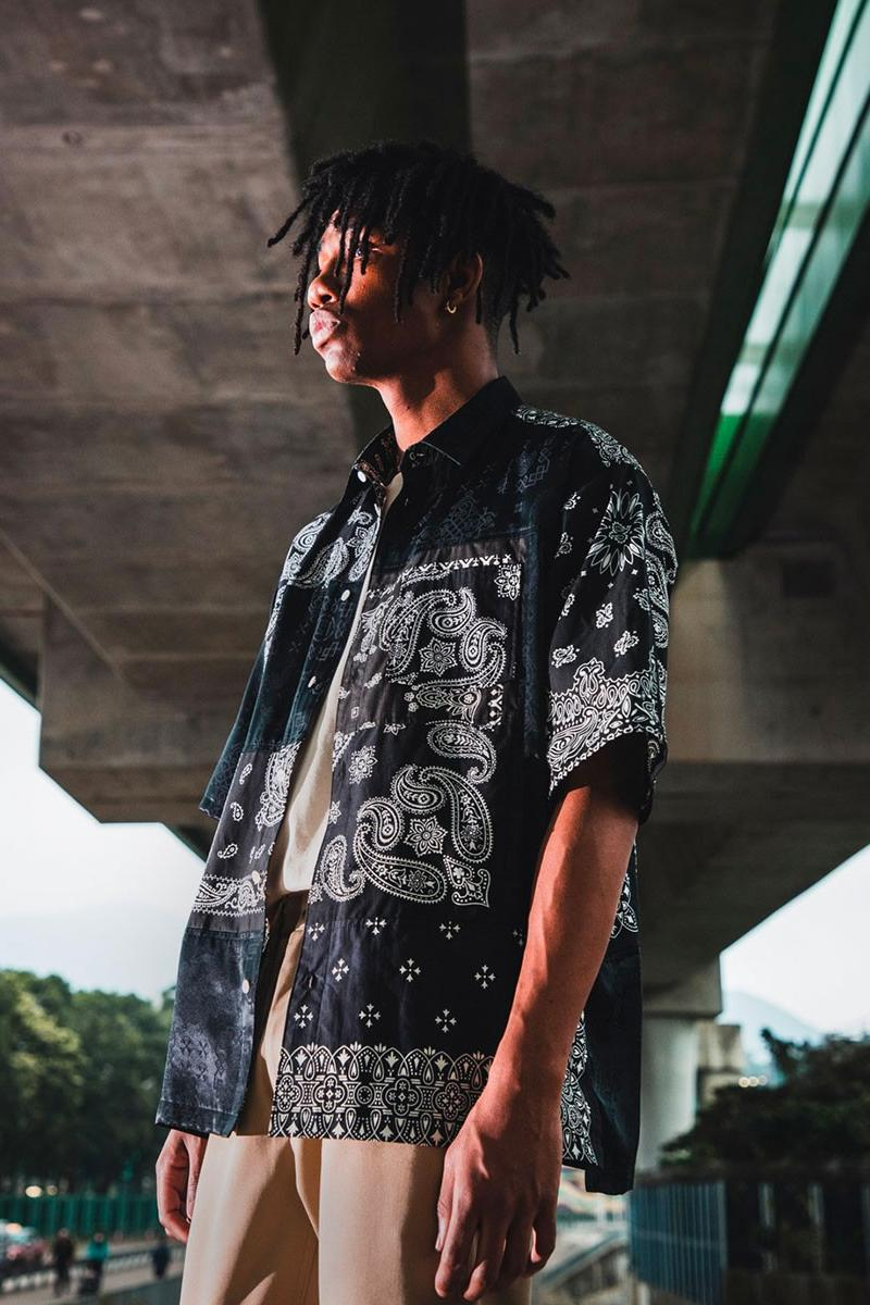 CLOT MIYAGIHIDETAKA 2020 Shirt Collection bandana button ups patchwork Juice Hong Kong fashion menswear streetwear spring summer