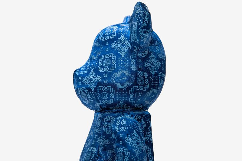 CLOT Nike Medicom Toy Royale University Blue Silk BE@RBRICK Release Info Buy Price