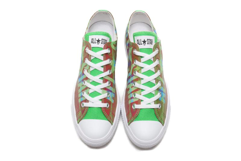 Converse Japan ALL STAR Low Light Lenticular Big Logo menswear streetwear spring summer 2020 collection footwear shoes sneakers trainers runners kicks