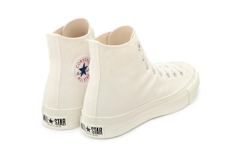 Converse Japan Canvas All Star J Hi 2 Release Info japan exclusive all white