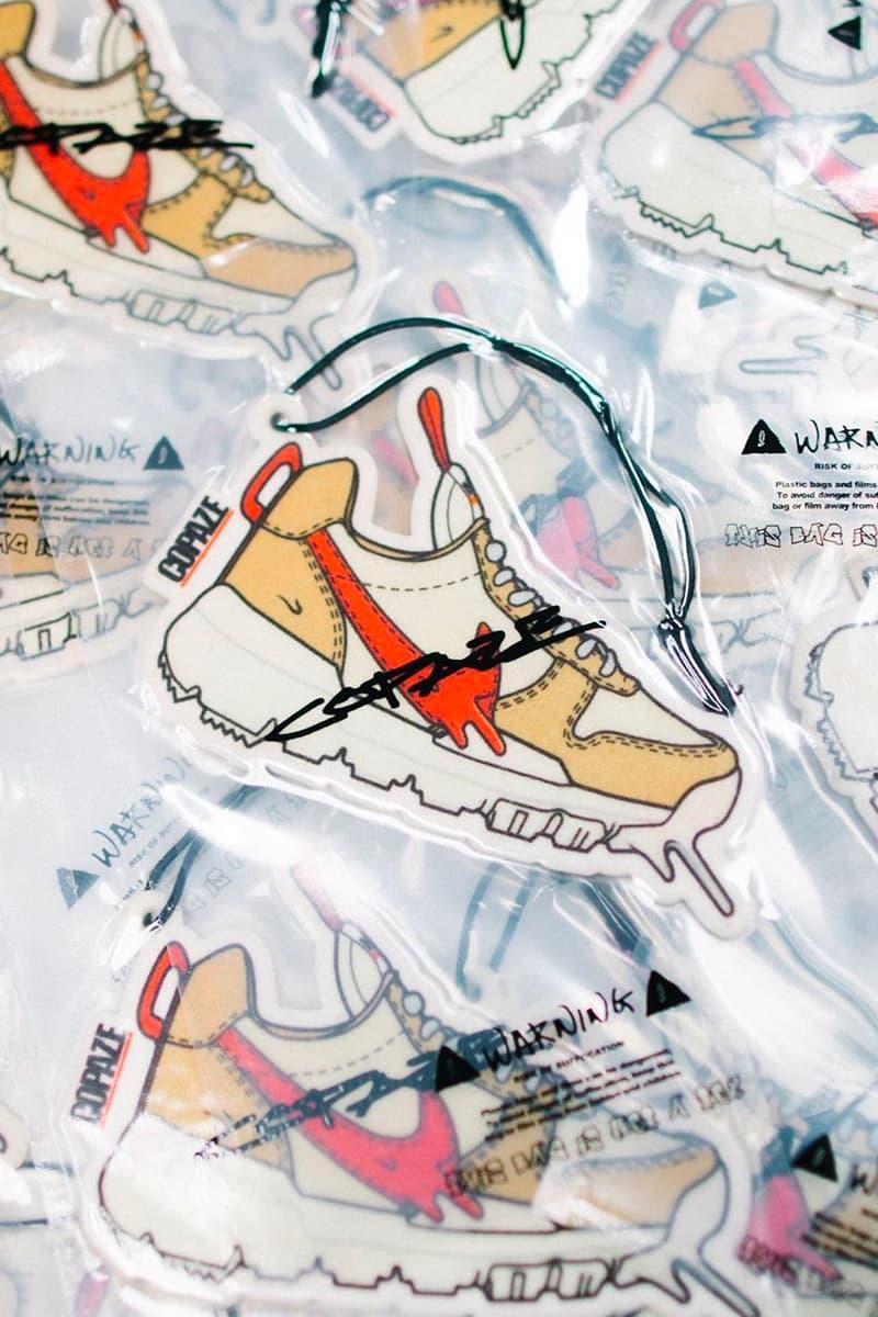 Copaze Tom Sachs Nike Mars Yard Rug Air Freshener Release info Buy Price